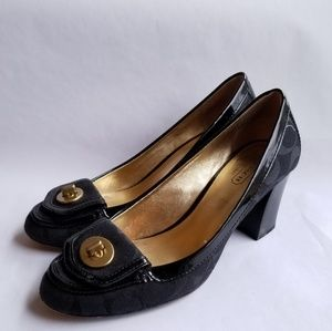 Coach Cybel signature heels